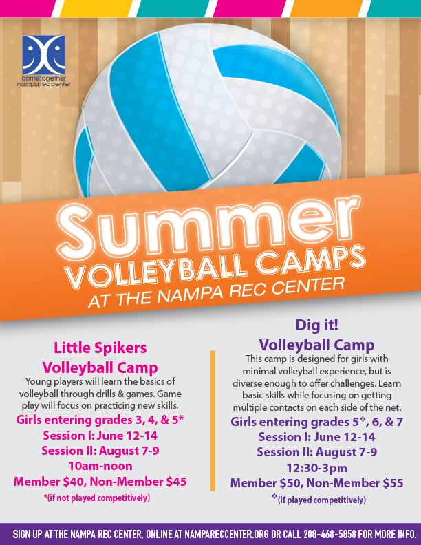 Summer Volleyball Camps 2019_eflyer