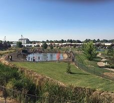 Amity Dog Park Aerial View