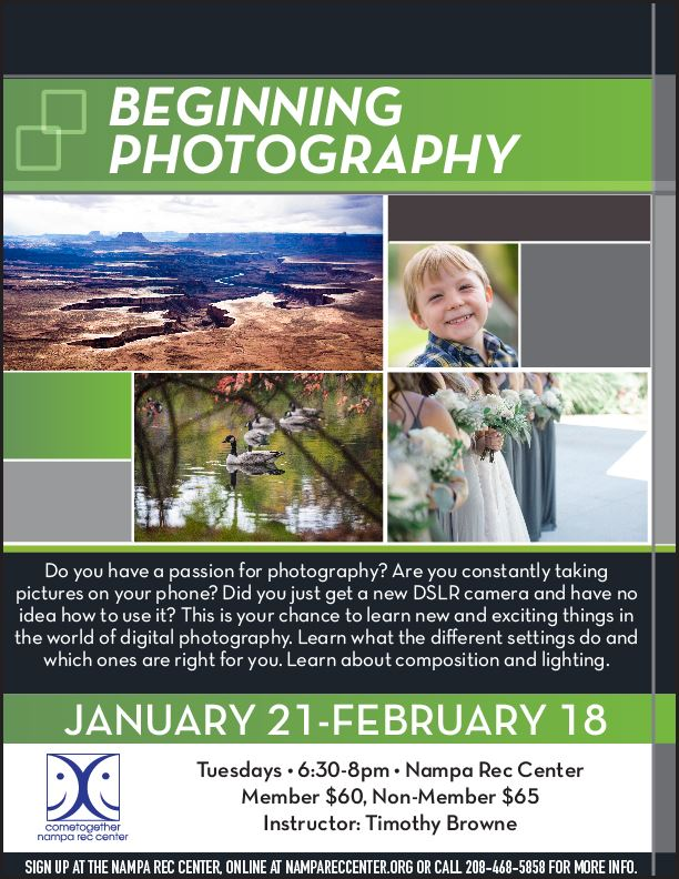 Beginning Photography Jan 2020_eflyer