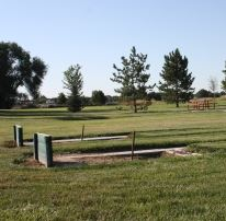 Two Horseshoe Pits