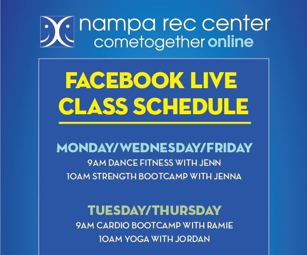 Facebook Live Schedule-NEW