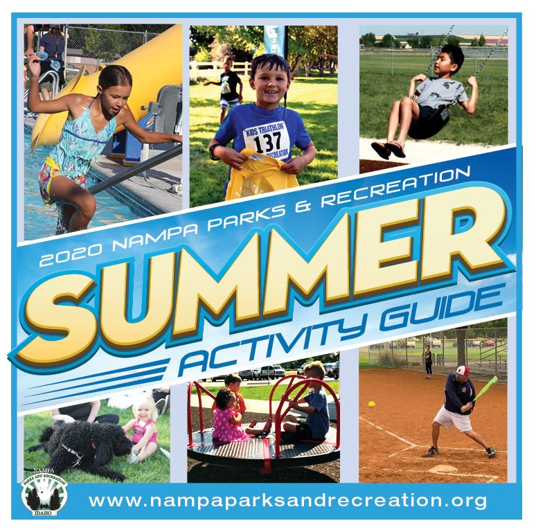 nampa parks and recreation summer 2020 activity guide COVER