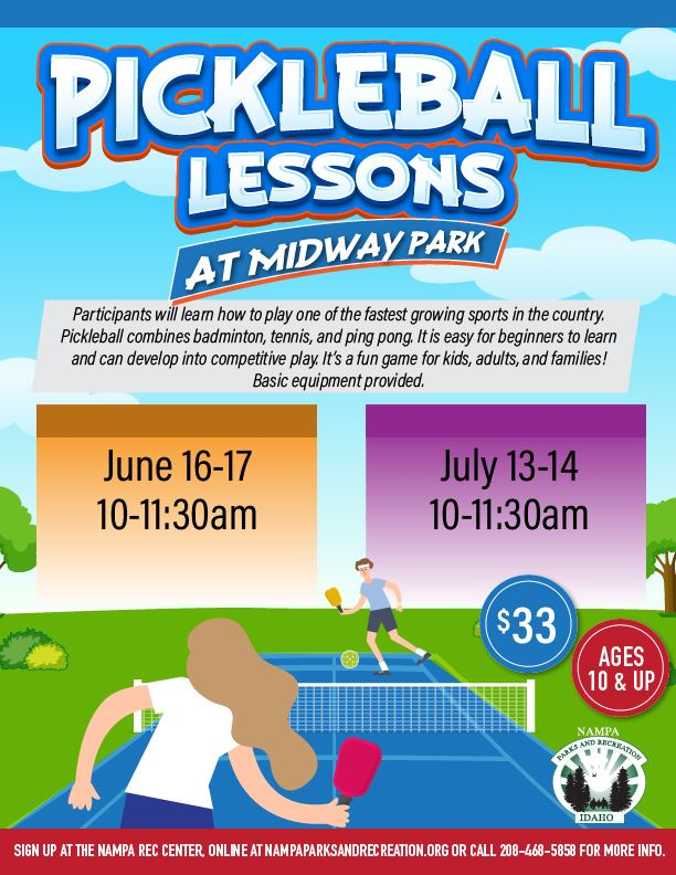Pickleball Lessons OUTDOOR SUM 20_eflyer