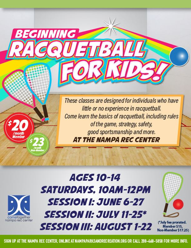 Beginning Racquetball SUMMER 2020_eflyer