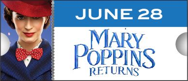 Silver Screen Mary Poppins June 28 2019