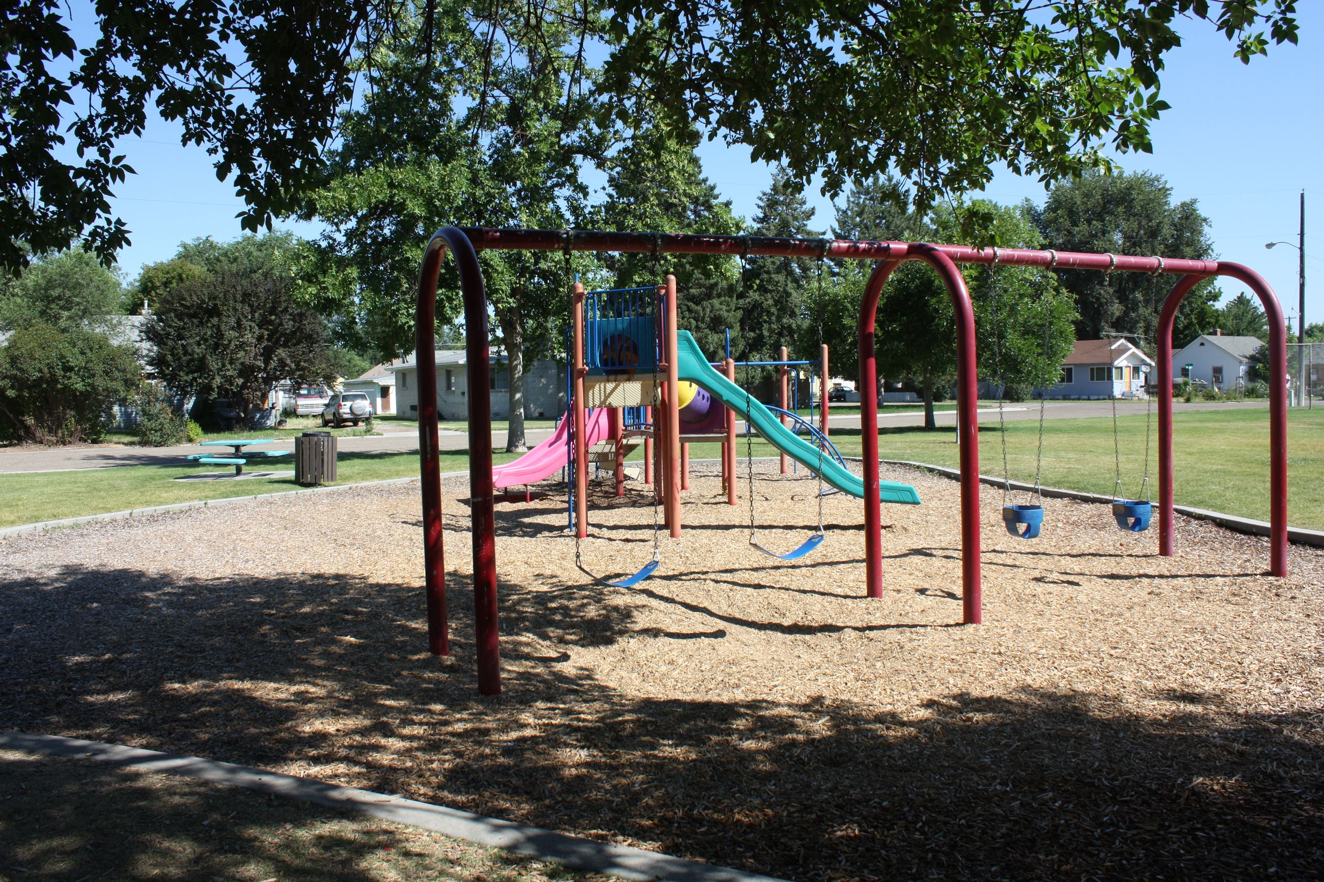 Playground at East Side Park