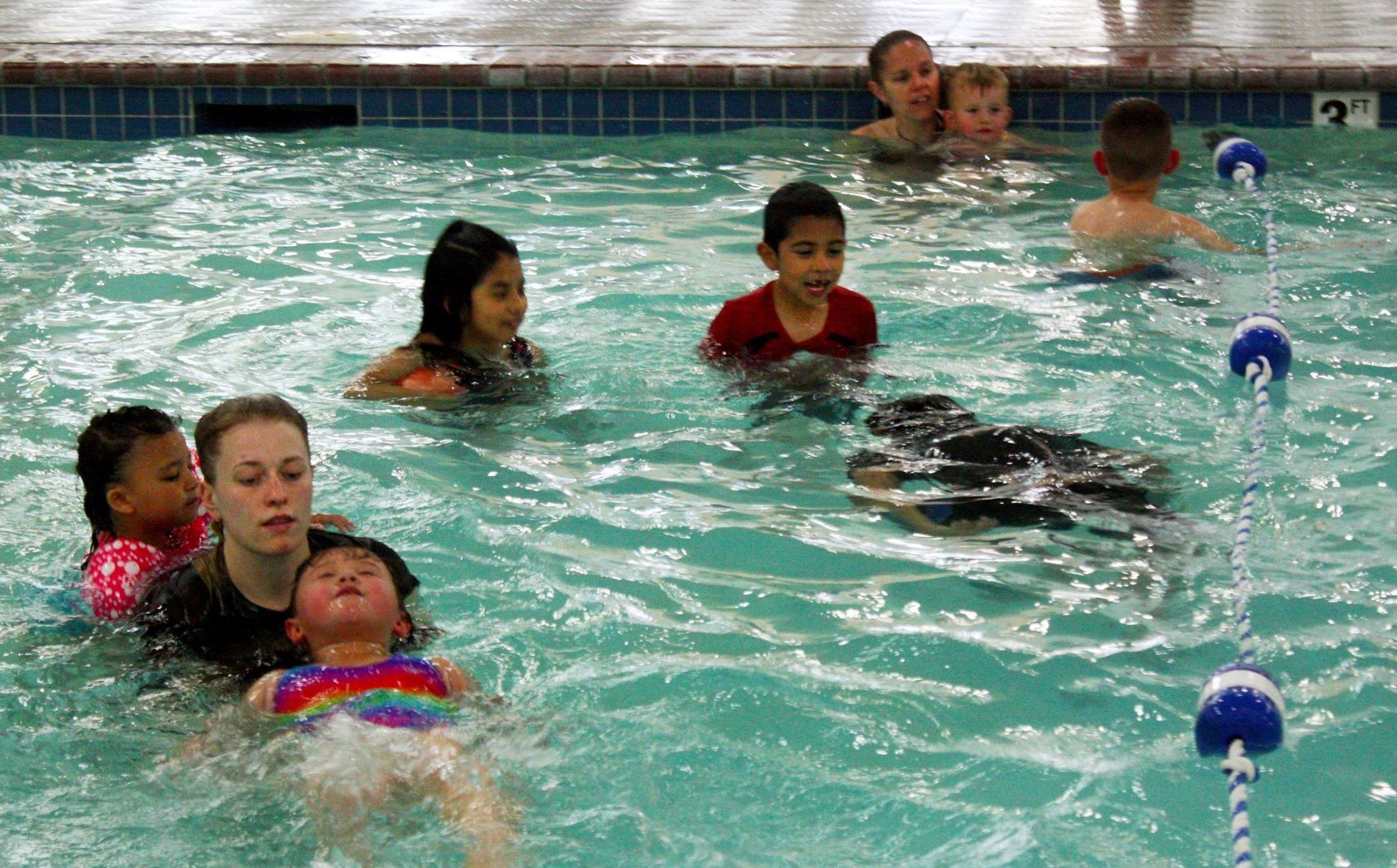 Nampa Rec Center swimming lesson